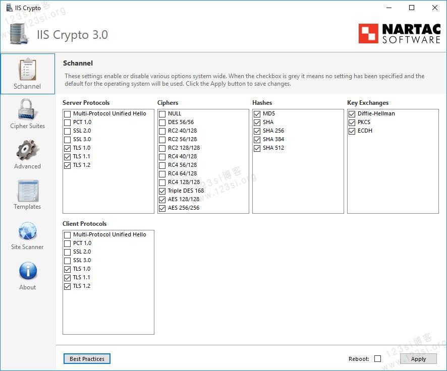IIS Crypto 工具